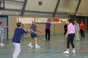 SVV sportfit 55+ volleybal
